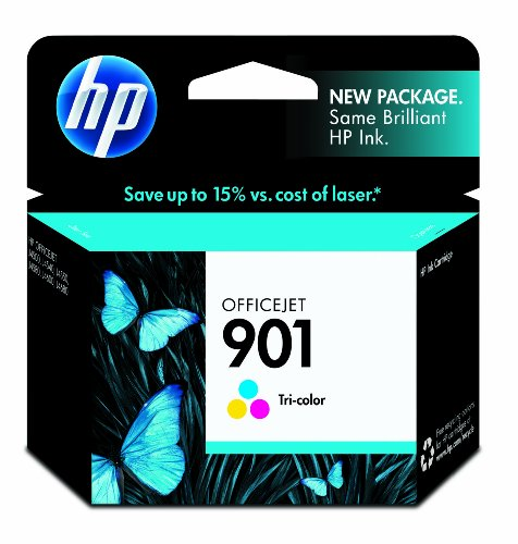 HP 901 Tri-color Original Ink Cartridge (CC656AN)
