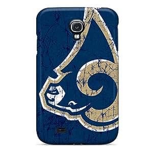 Shockproof Cell-phone Hard Cover For Samsung Galaxy S4 (Daa469oQfi) Custom Beautiful St. Louis Rams Skin