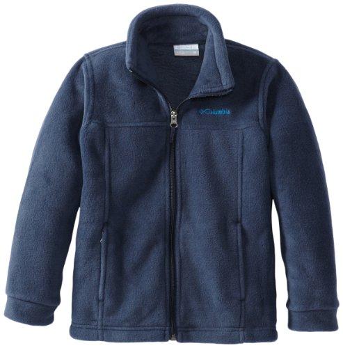 - Columbia Youth Boys' Steens Mt II Fleece Jacket, Soft Fleece with Classic Fit,Collegiate Navy,X-Small (6/7)