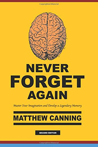 Download Never Forget Again: Master Your Imagination and Develop a Legendary Memory ebook