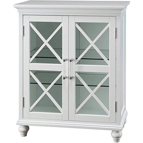 Mason Bathroom Decor Floor Cabinet with 2 Doors (Hawaii Cone Shell)