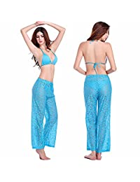 BP01 Sexy Bikini Swimwear Party Pants Lace Cover-ups Wrap Beach Shorts