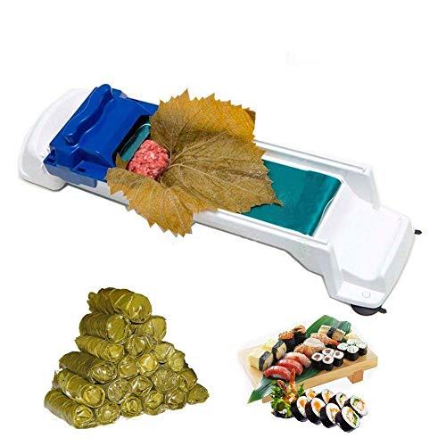 (Sushi Mold Vegetable Meat Rolling Tool Dolma Sarma Roller Magic Roller Stuffed Garpe Cabbage Leave Grape Leaf Machine)