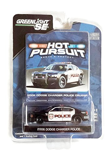 Greenlight SE - Hot Pursuit 2006 Dodge Charger Police Cruiser 1:64 Scale