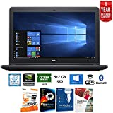 "Dell 15.6"" Gaming Notebook w/ Intel i7-7700HQ, 16GB Ram, 512 SSD, NVIDIA 1050 (4GB) + Elite Suite 17 Standard Software Bundle (Corel WordPerfect, PC Mover, PDF Fusion, X9) + 1 Year Extended Warranty"