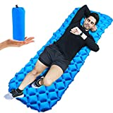 Sleeping Pad,Inflatable Sleeping Mattress Mat Light Weight,Compact and Waterproof Mat for Tents Hiking,Backpacking,Tent,Camping,Travelling