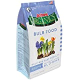 buy Jobe's Organics Bulb Fertilizer with Biozome, 3-5-4 Organic Fast Acting Granular Fertilizer for Tulips, Daffodils, Lilies and other Bulb Flowers, 4 pound bag now, new 2018-2017 bestseller, review and Photo, best price $15.99