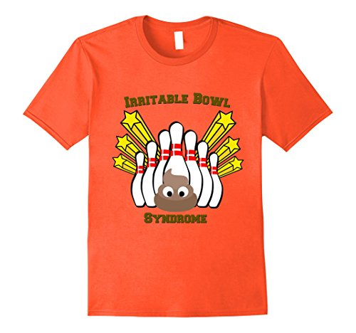 Syndrome Bowling T Shirt Large Orange ()