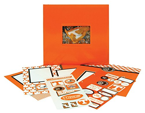 Tapestry by CR Gibson University of Tennessee Complete Scrapbook Kit, Collegiate Edition