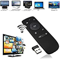 ANDROSET 3in1 2.4GHz Wireless Remote Controller Air Fly Mouse for Android TV Box PC