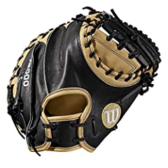 Handle pitches in the dirt with the A2000 CM33. Designed with a deeper pocker and catching area for better control, this WTA20RB19CM33 is perfect for catchers who are active behind the plate. With a thinner heel pad than most mitts, the glove...