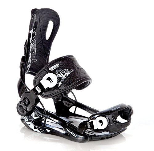 Snowboard Bindung Raven Fastec FT270 Black Größe: L