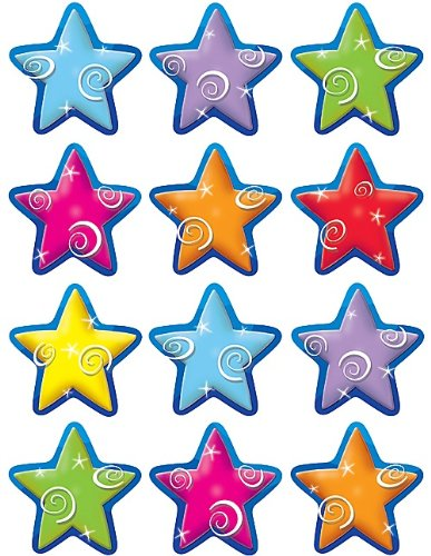 Stars Mini Accents (Monthly President)