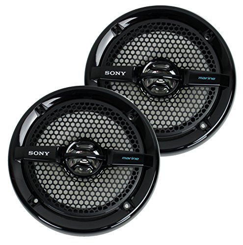 6.5 Dual Cone Speaker (Sony XSMP1611 6.5-Inch Dual Cone Marine Speakers (Black))