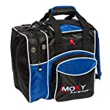 Moxy Deluxe Single Tote Bowling Bag- Royal/Black For Sale