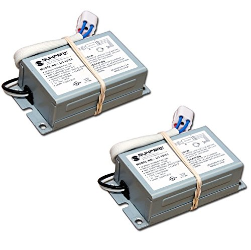 Sunpark LC12012 120v 22w FC8T9 circline lamp ballast with lamp holder attached (2 Pack) ()