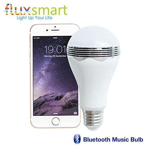 Fluxx2122; Blast - LED Light Bulb With Bluetooth Speaker -...