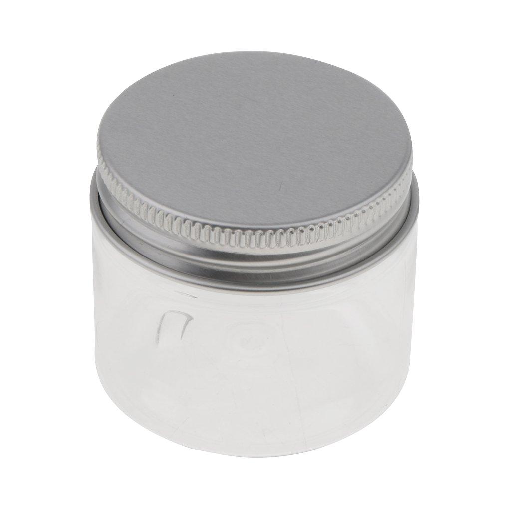 CUTICATE 10 Pcs Pot Vide En Plastique R/écipient Cosm/étique Avec Couvercle Pour 60ml