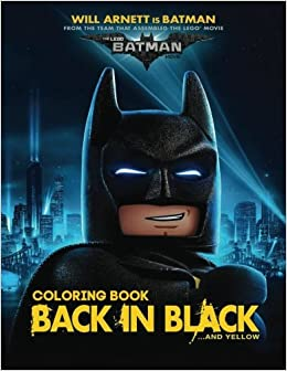 Amazon Lego Batman Coloring Book For Kids And Adults