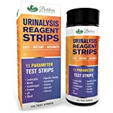 11 Parameter Urine Test Strips (100 Count) Easy - Instant - Accurate!