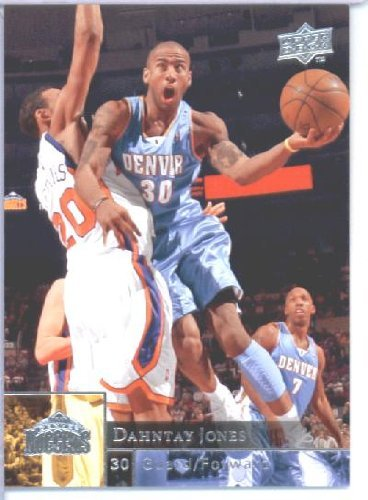 2009 /10 Upper Deck Basketball Card # 44 Dahntay Jones Nuggets Mint Condition - Shipped in Protective ScrewDown Display Case! (Mint Condition Nuggets)