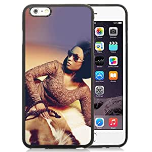 New Beautiful Custom Designed Cover Case For iPhone 6 Plus 5.5 Inch With Nicki Minaj Sexy Girl Model Music Celebrity Phone Case