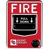 SILENT KNIGHT PS-SA Single action pull station,key reset