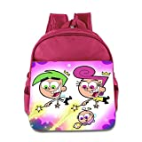 Kids The Fairly Oddparents School Backpack Fashion Children School Bags Pink