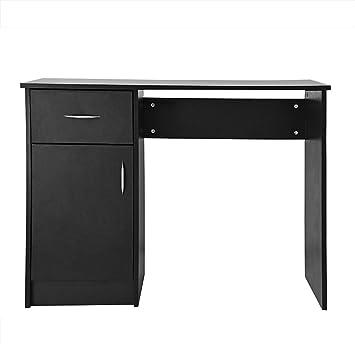 Keinode Computer Schreibtisch Mit Schrank 1 Schublade Schrank 1 Holz