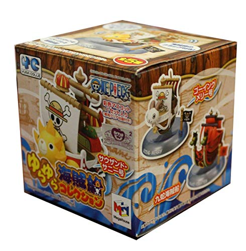 Megahouse Onepiece: Yurayura Pirate Ship Trading Figure (Thousand Sunny Model Kit)