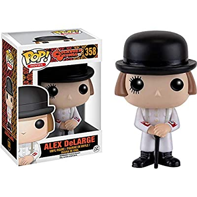 Funko POP Movies: Clockwork Orange - Alex Action Figure: Funko Pop Movies: Toys & Games
