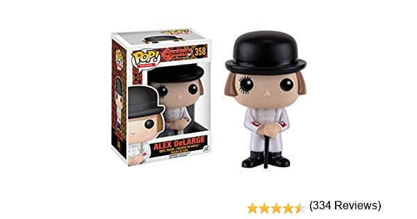 Funko Vinyl: A Clockwork Orange: Alex, Talla única (10127): Funko ...