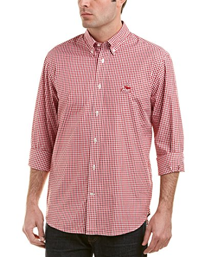 Faconnable Mens Woven Shirt, L