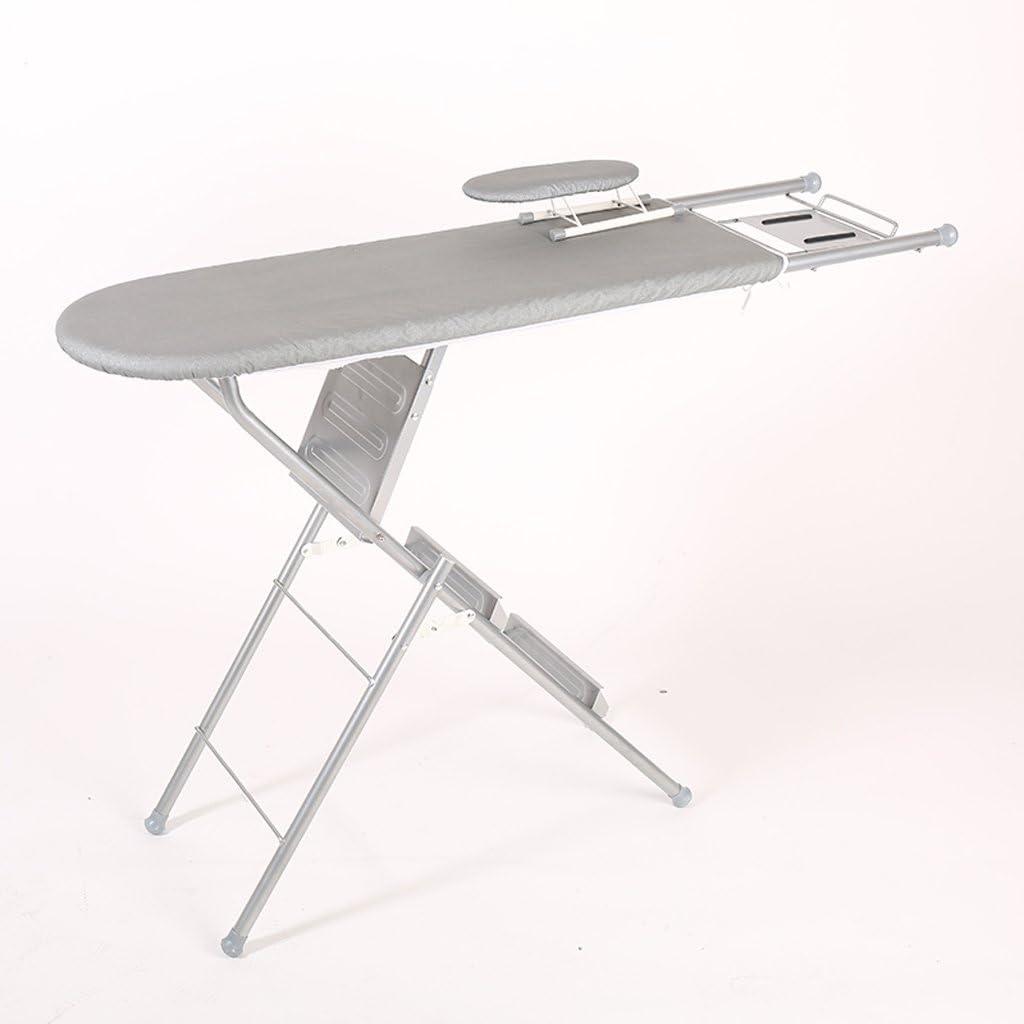 KK- tabla de planchar casa plegable grandes reforzados plancha toalla de malla de acero de planchado ropa escalera sólida: Amazon.es: Hogar