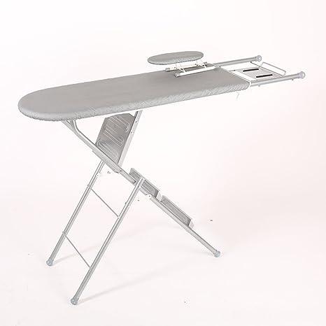 KK- tabla de planchar casa plegable grandes reforzados plancha toalla de malla de acero de