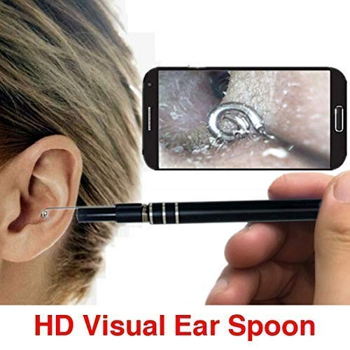Top 10 Health Accessories Newest USB Ear Cleaning Endoscope HD Visual Ear Spoon Multifunctional Earpick With Mini Camera Ear Health Care Cleaning Tool