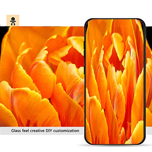 iPhone 7p / 8p Ultra-Thin Phone case Close up of Orange Color Double Early Tulip_ Resistance to Falling, Non-Slip, Soft, Convenient Protective case