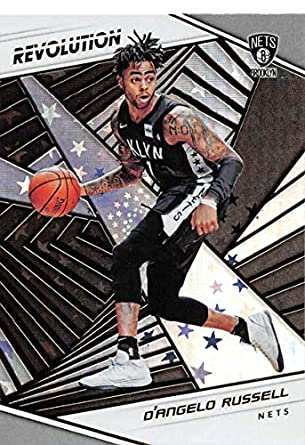 61ce2b2bfead3 2018-19 Revolution Astro Basketball #72 D'Angelo Russell Brooklyn Nets  Official NBA