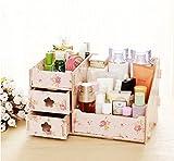 Ning store Makeup Organizer (Pink Rose Garden)  sc 1 st  Amazon.com & Amazon.com: Acrylic Box Cabinet Cases Cosmetic Organizer Makeup ...