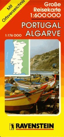 Ravenstein Karten Nr.6824   Portugal Algarve  Ravenstein International Maps