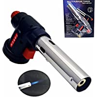 Yiwa Multipurpose Barbecue Cooking Baking Butane Burner Electronic Ignition Fire Blow Torch