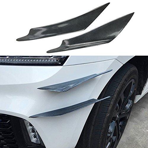 Car Bumper Protector,4PCS/Set Universal Front Car Bumper Protection-100% Waterproof Protection-The Strongest, Largest Bumper Protector. Bumper Guard, Bumper Protection-Extreme Bumper Protection: