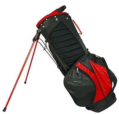 Hot-Z 2017 Golf 2.0 Stand Bag, Red/Black