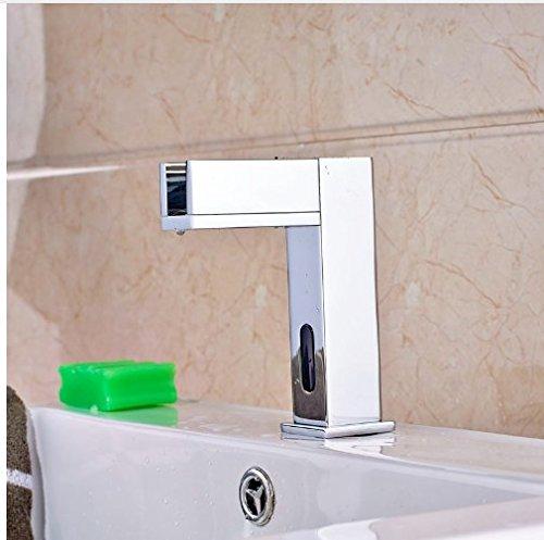 LED Light Water Saving Sensor Taps Wholesale | Gowe Bathroom Vanity Sink Tap 2