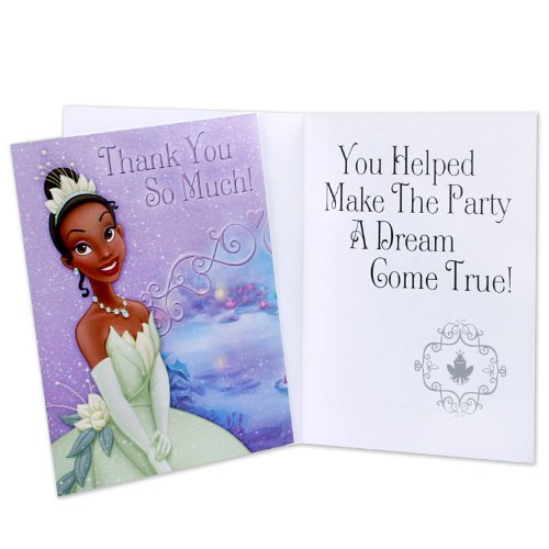 Princess and The Frog Thank You Notes 8ct]()
