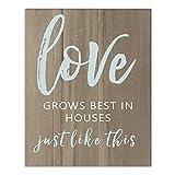Love Grows 16x20 Canvas Wall Art