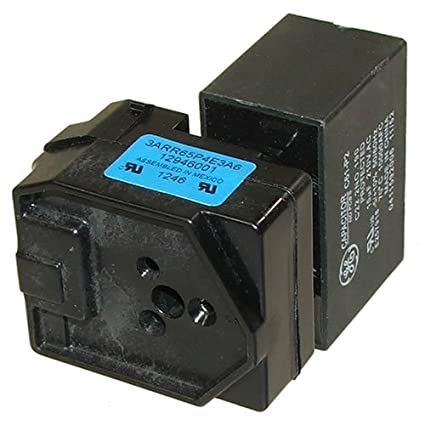 amazon com refrigerator compressor relay capacitor w10613606 by rh amazon com Relay Switch Symbol Relay Switch Schematic