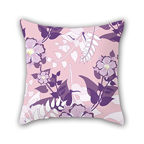 [PILLO Flower Pillowcase 18 X 18 Inches / 45 By 45 Cm Best Choice For Kids,car,festival,kids Boys,couch,dining Room With Double] (Make Confederate Soldier Costume)