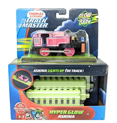 Thomas & Friends Fisher-Price TrackMaster, Motorized Hyper Glow Ashima