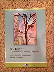 first essays a peer approach to freshman composition Write a few sentences addressing your first impressions about it is it well  has  the writer of the essay analyzed the author's approach consider how the writer.